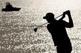 Участник игры в гольф. Кубок Райдера, Висконсин, США.