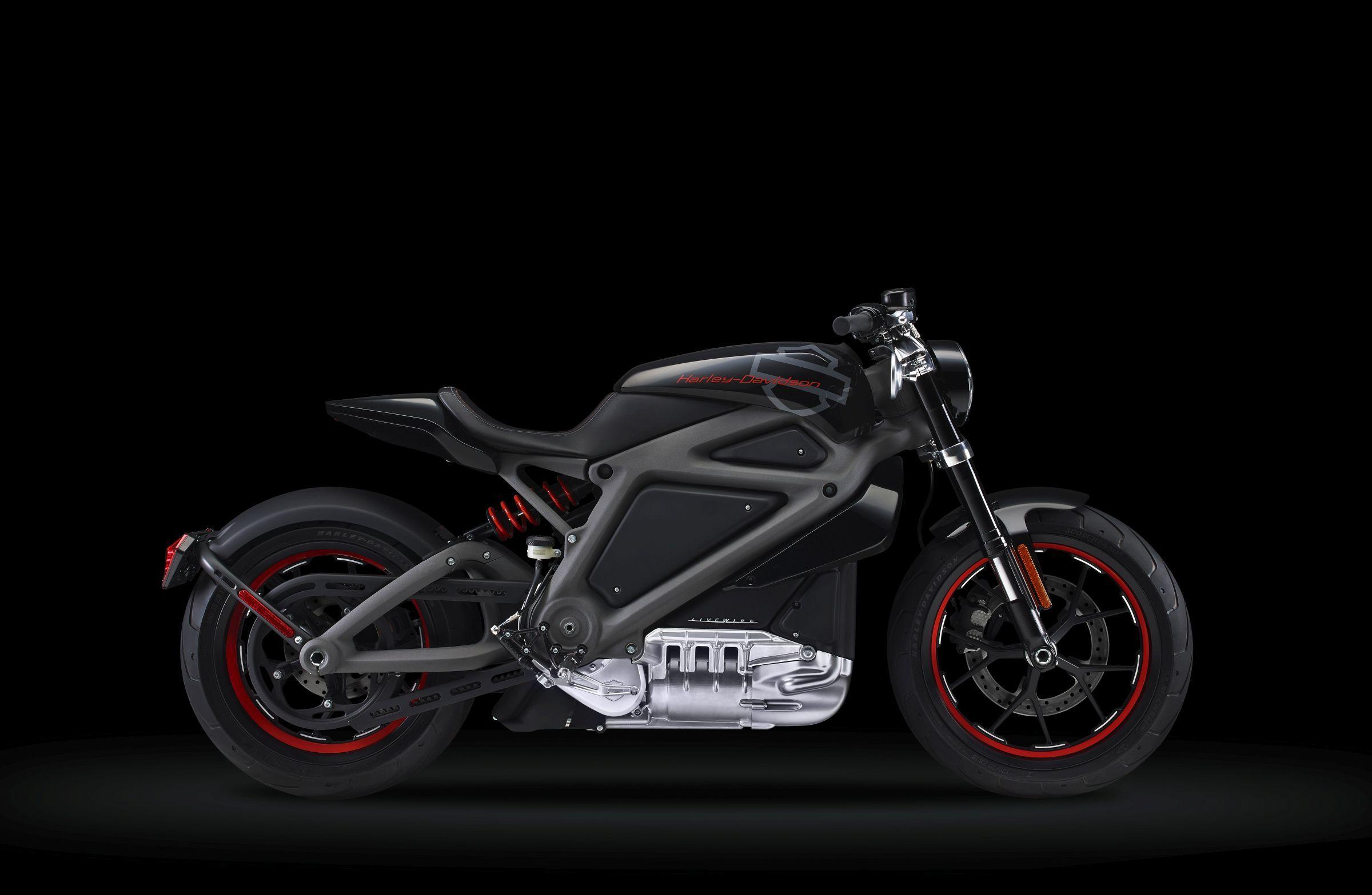 Электрический мотоцикл LiveWire. Фото: harley-davidson.com